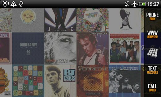 Review of Album Art Live Wallpaper for Android