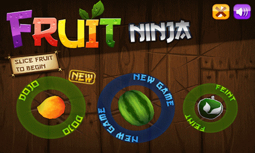 Addictive Android Game: Fruit Ninja