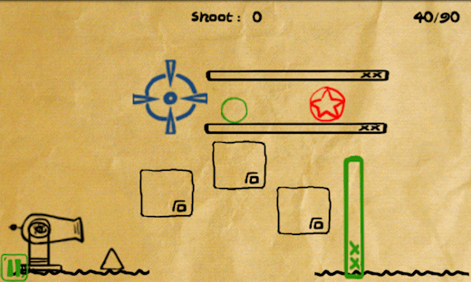 Addictive Android Game: Shoot U!