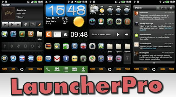 17 reasons to use the Android homescreen replacement LauncherPro Plus - a tutorial