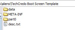How to create a static Android boot screen instead of an animation