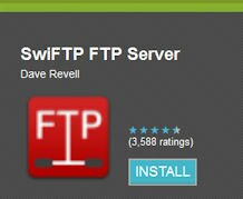 How to turn the SD card on your Android phone into an FTP server