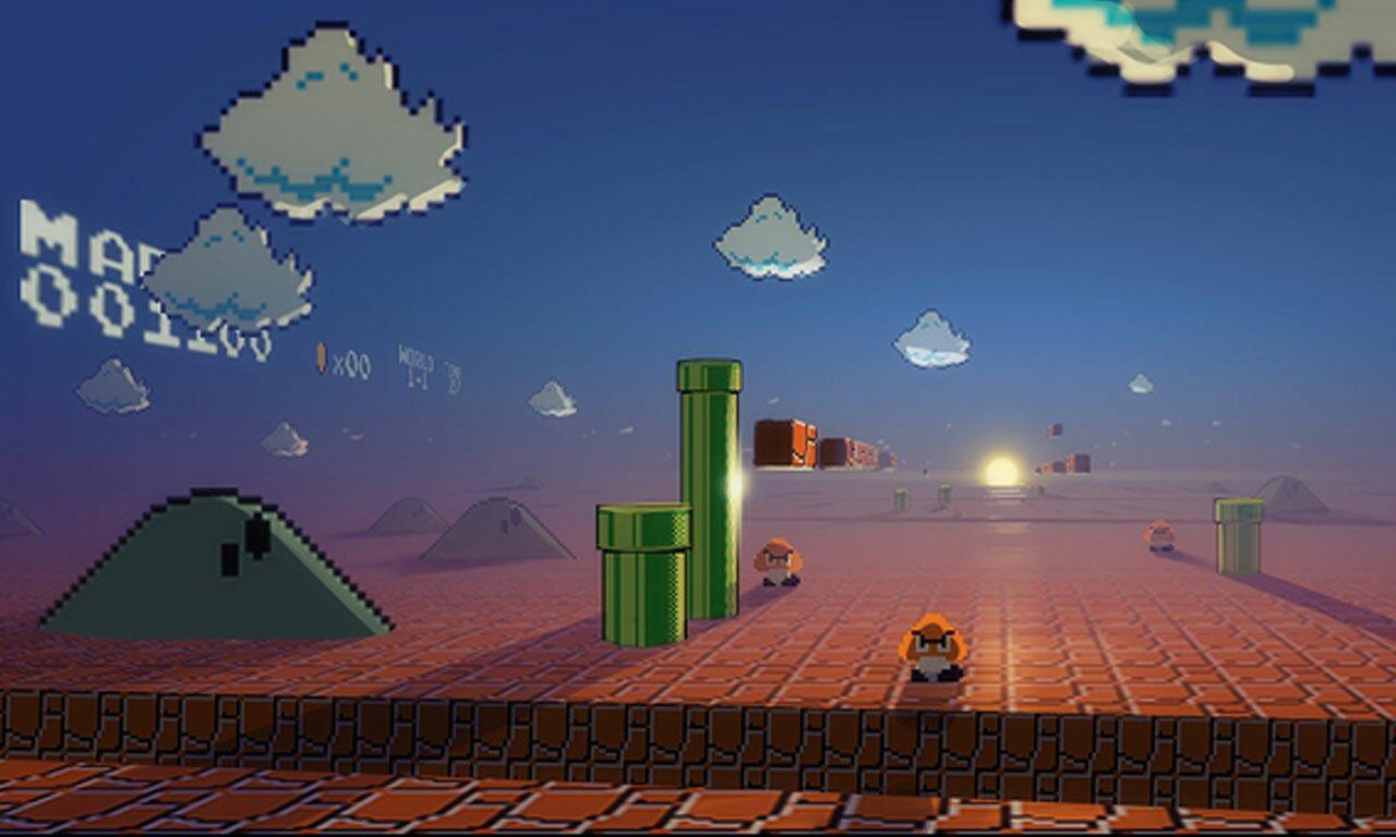 Techcredo 8 Bit Super Mario And Retro Pixels Wallpapers