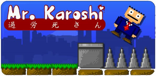 Review of the wonderfully wacky game Karoshi for Android