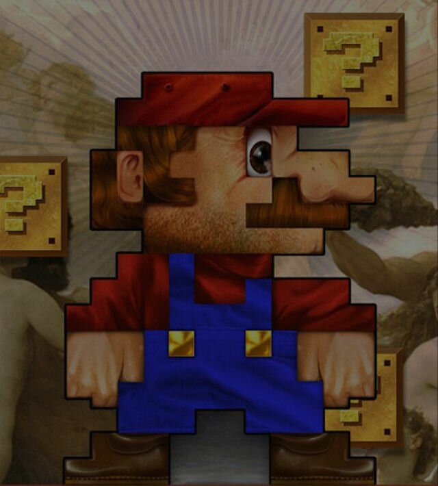 TechCredo | 8-bit Super Mario and retro pixels wallpapers