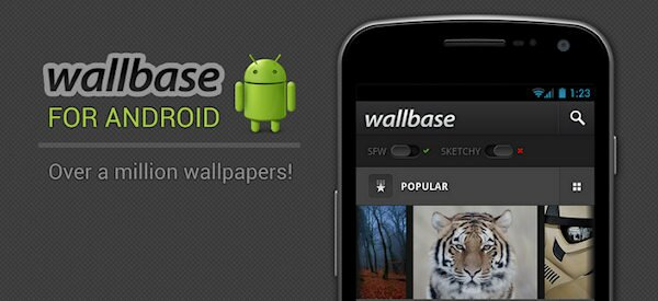 Do you enjoy high quality wallpapers? Check out Wallbase.cc and the Wallbase HD Android app