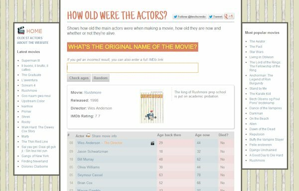 How old were the actors when making..?