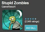 Top free Android games: Stupid Zombies